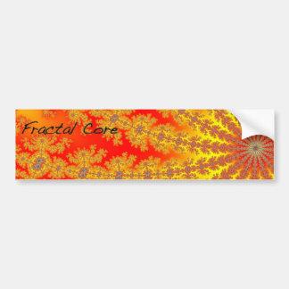 Fractal Core Bumper Sticker