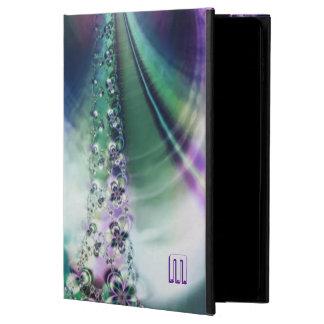 Fractal Curtain Monogram iPad Air 2 Case