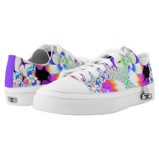Fractal Day Dreams Printed Shoes