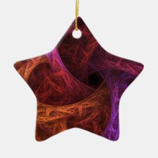 Fractal Design Ceramic Star Decoration