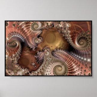 fractal-digital art poster