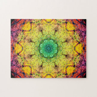 Fractal Dream | Relaxation Mandala Jigsaw Puzzle