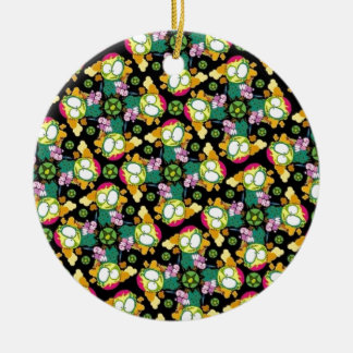 Fractal Elegance Christmas Ornament