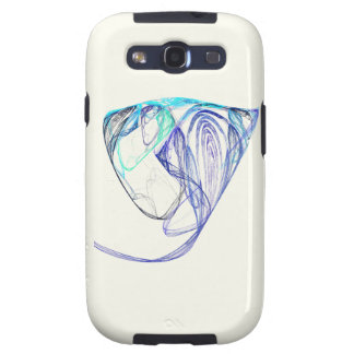 Fractal - Elephant Portrait Samsung Galaxy S3 Case