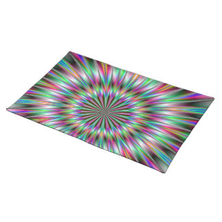 Fractal Explosion American MoJo Placemats