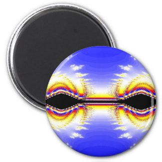 Fractal Eyes Magnet