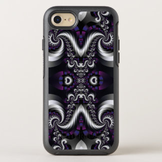Fractal Fancy Plum Spiral OtterBox Symmetry iPhone 8/7 Case