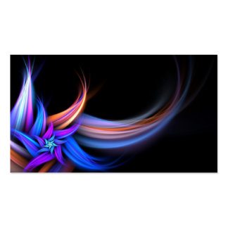 Fractal Feathers Design Business Cards