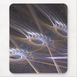Fractal Feathers Mouse Pads