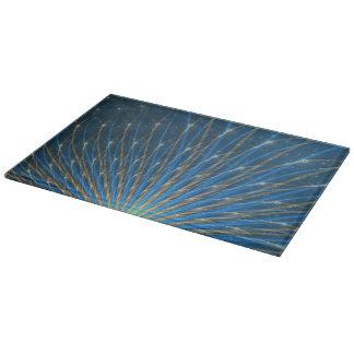 Fractal Fireworks Cutting Board
