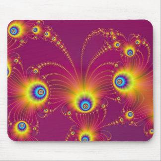 Fractal Fireworks Mouse Mat