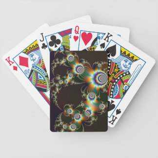 Fractal Fireworks Playing Cards