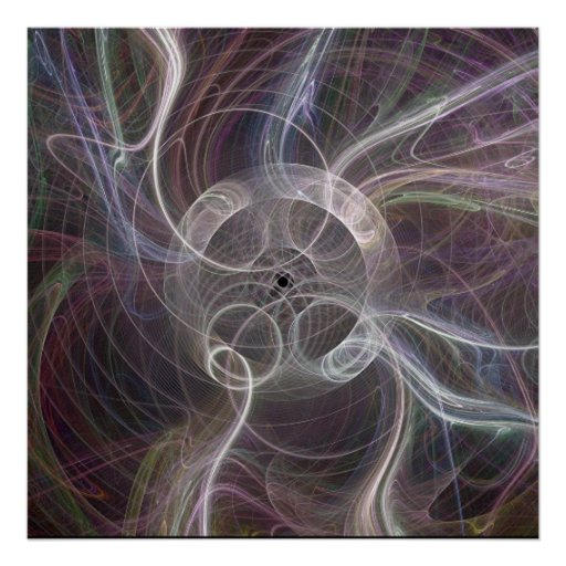 Fractal Flame : Ring Ghost Poster