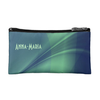 "Fractal ""Flash of Thought"" Purse/Wristlet Makeup Bags"