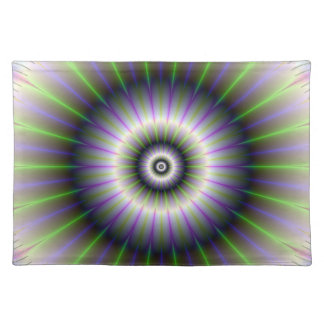 Fractal Floral American MoJo Placemats