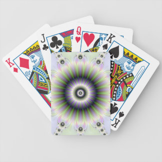 Fractal Floral Playing Cards