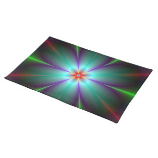 Fractal Flower American MoJo Placemats