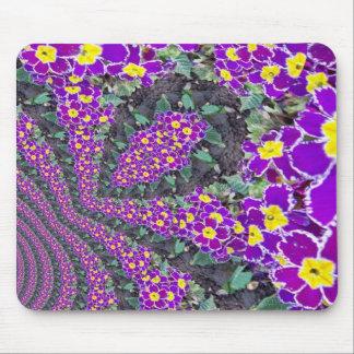 Fractal Flower Mouse Pad