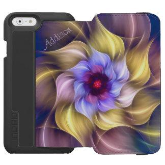 Fractal Flower *Personalize* Incipio Watson™ iPhone 6 Wallet Case