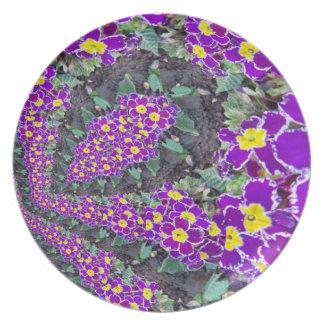 Fractal Flower Plate