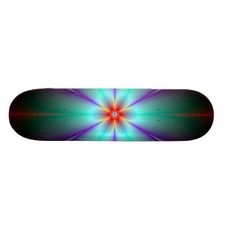 Fractal Flower Skateboard