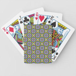 Fractal Flower Tiled  Playing Cards