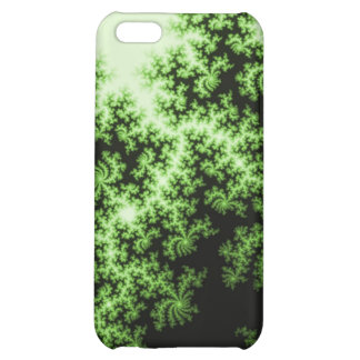 Fractal Forest-Think GREEN pretty and meaningful iPhone 5C Case
