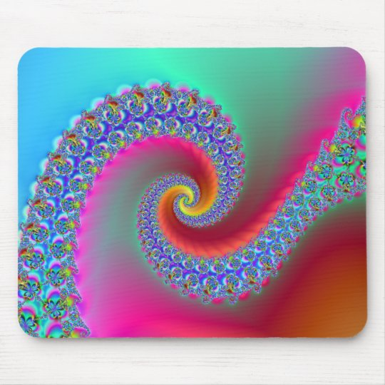 Fractal fun26 mouse pad