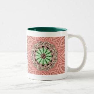 Fractal Garden Two-Tone Coffee Mug