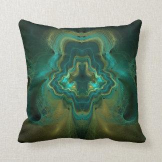 Fractal Geode Cushion