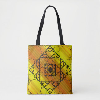 Fractal Geometry All-Over-Print Bag