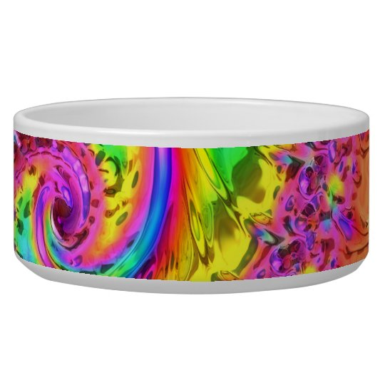 Fractal Glass 6 Pet Bowl