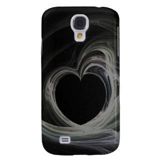 Fractal Heart Art Galaxy S4 Case