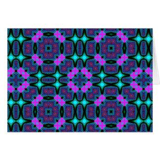 Fractal Kaleidoscope Art 734 Card