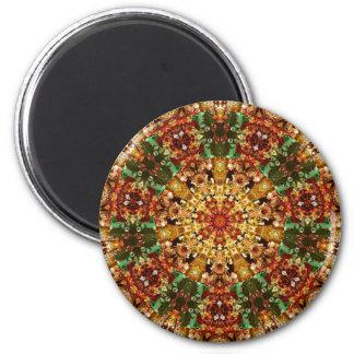 Fractal Kaleidoscope Art 789 Fridge Magnets