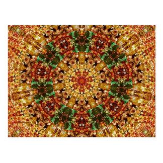 Fractal Kaleidoscope Art 789 Postcard