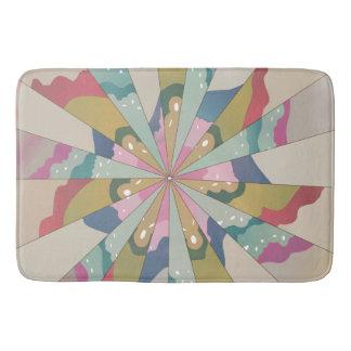 Fractal Kaleidoscope Bath Mat