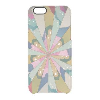 Fractal Kaleidoscope Clear iPhone 6/6S Case