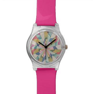 Fractal Kaleidoscope Wrist Watches