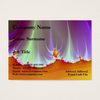 Fractal Landscape Chubby Business Card