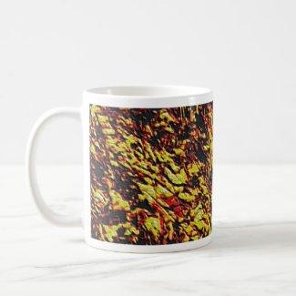 Fractal Lava Pattern mug