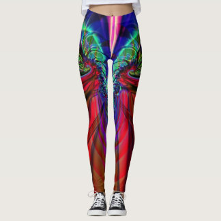 Fractal Leggings, Lightning Leggings