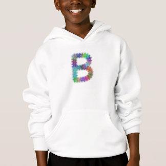 Fractal letter B monogram