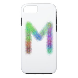 Fractal letter M monogram iPhone 7 Case