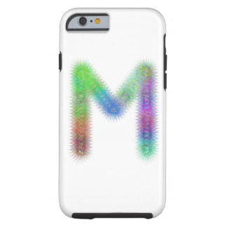 Fractal letter M monogram Tough iPhone 6 Case