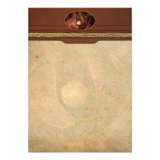Fractal - Life Origins Custom Invitation