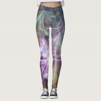 Fractal lights leggings