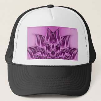 Fractal Lotus Flower Abstract Trucker Hat
