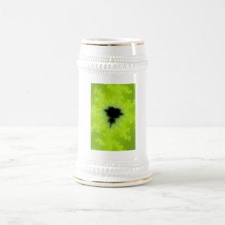 Fractal Mandelbrot Green Coffee Mugs