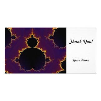 Fractal Mandelbrot Photo Card Template